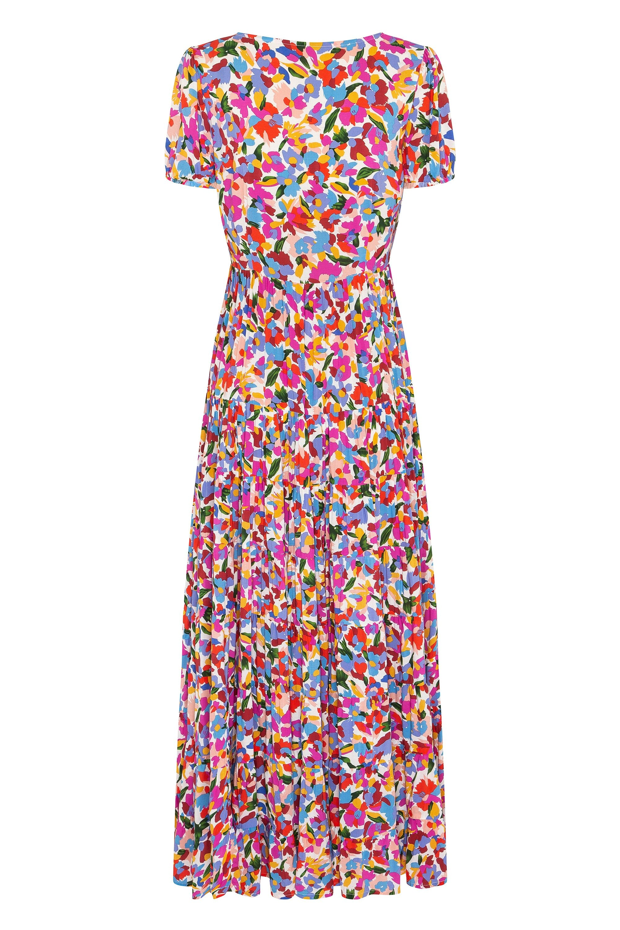 Roos Maxi Dress In Fleur