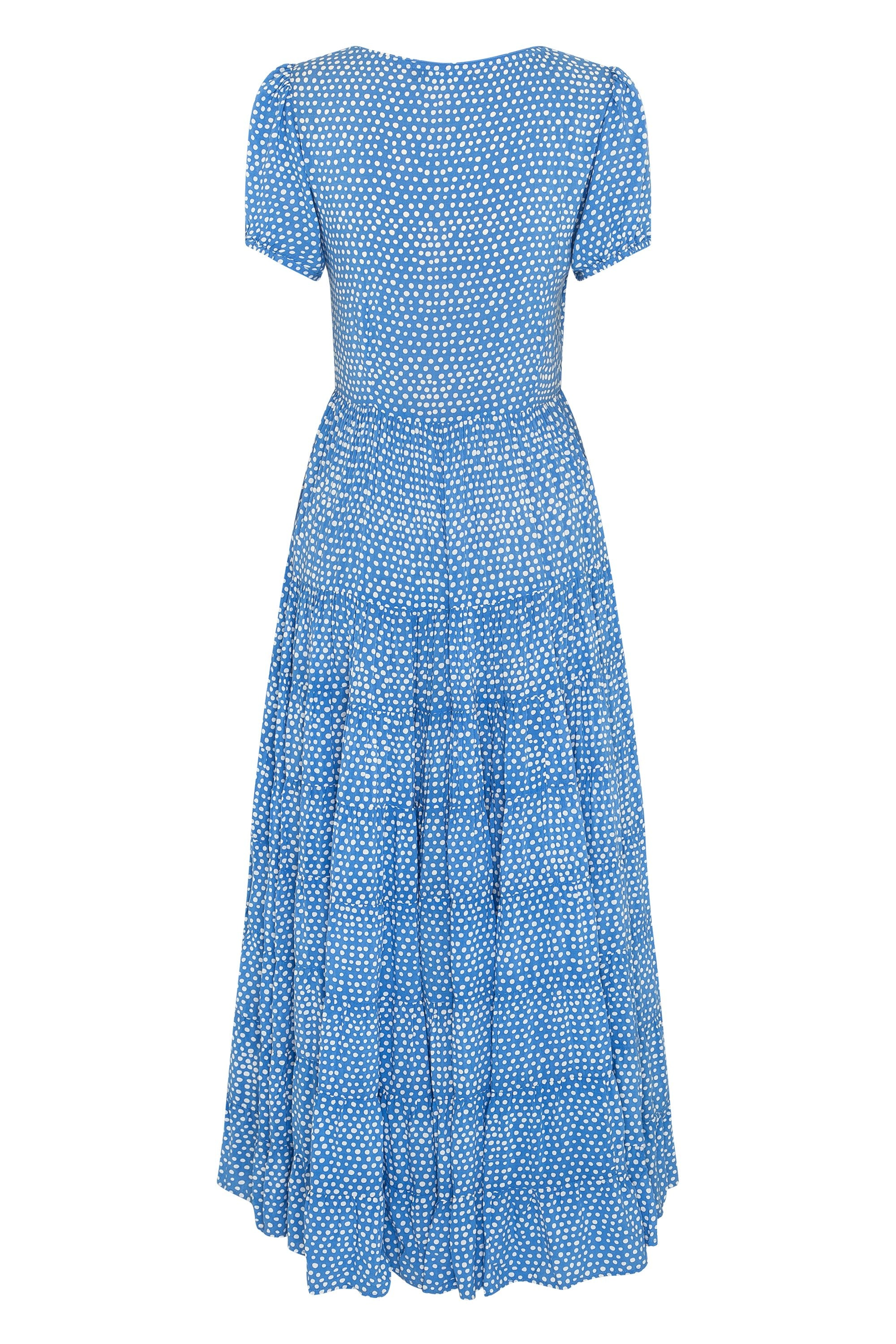Roos Maxi Dress In Sky Blue