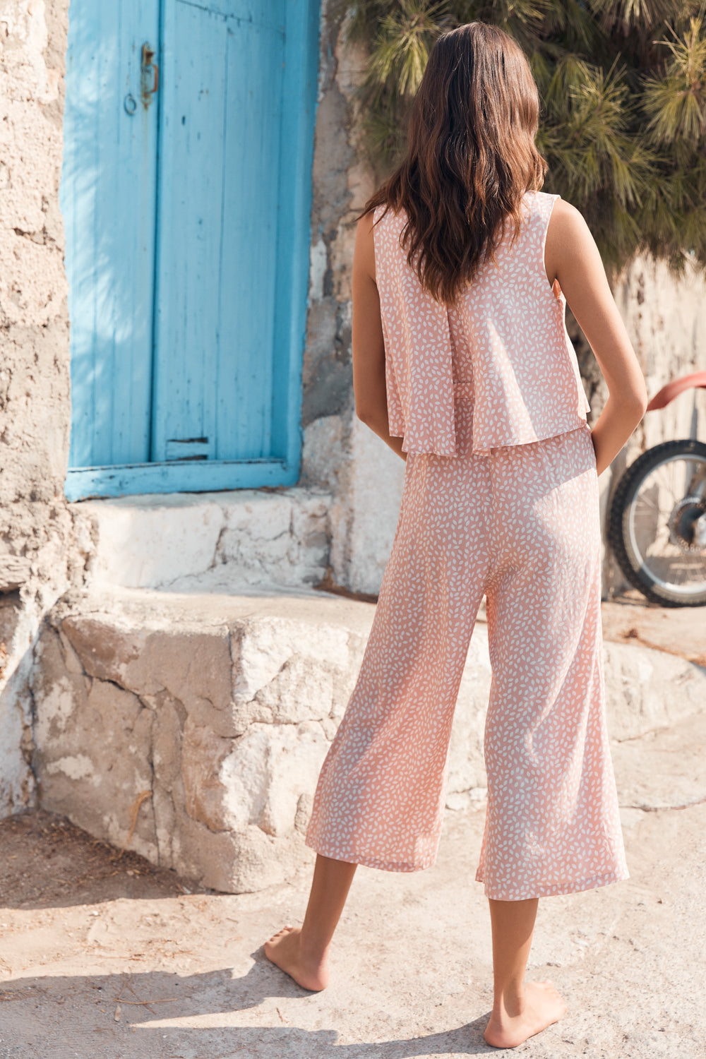 Clover Jumpsuit In Blossom
