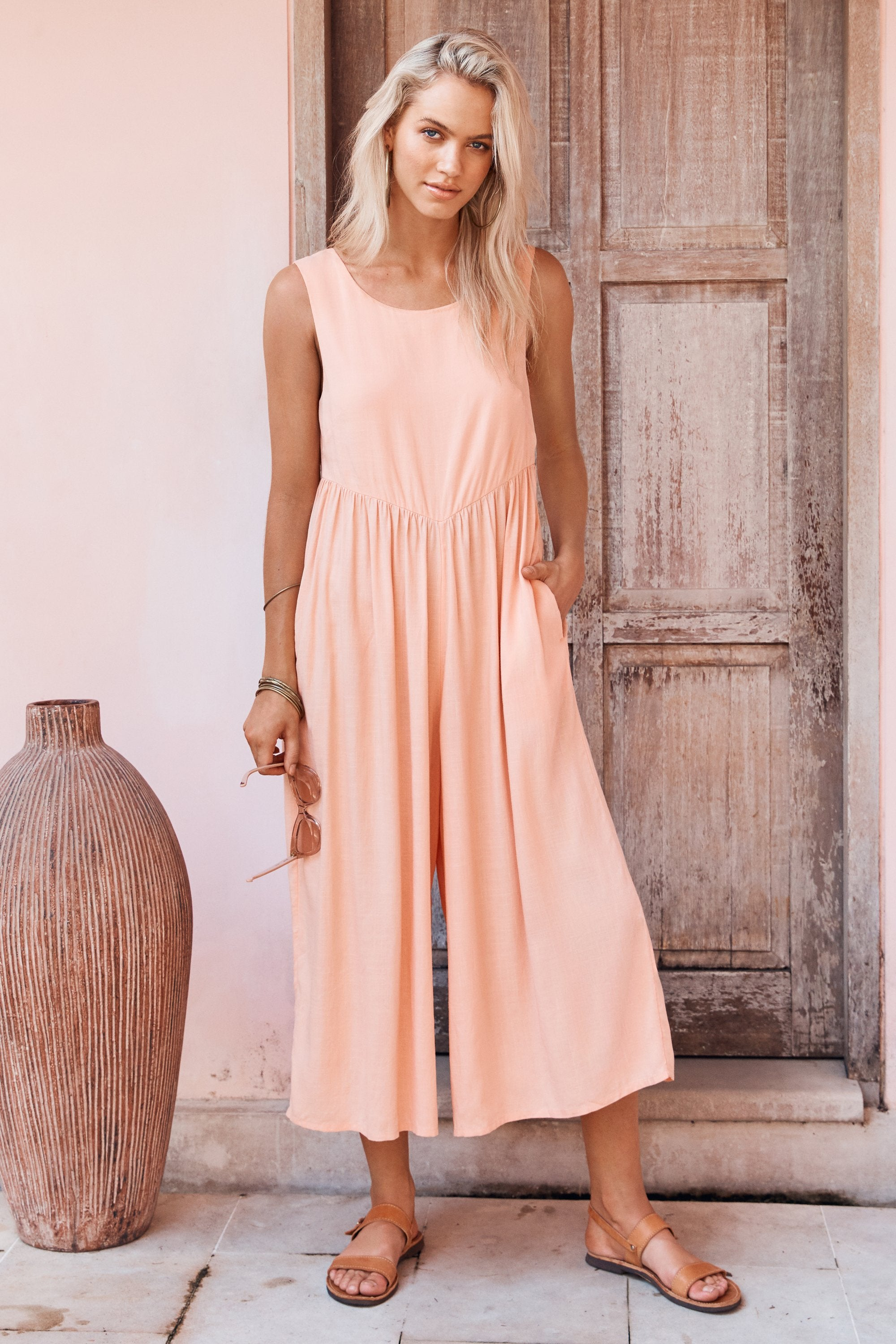 Libby Jumpsuit In Sorbet