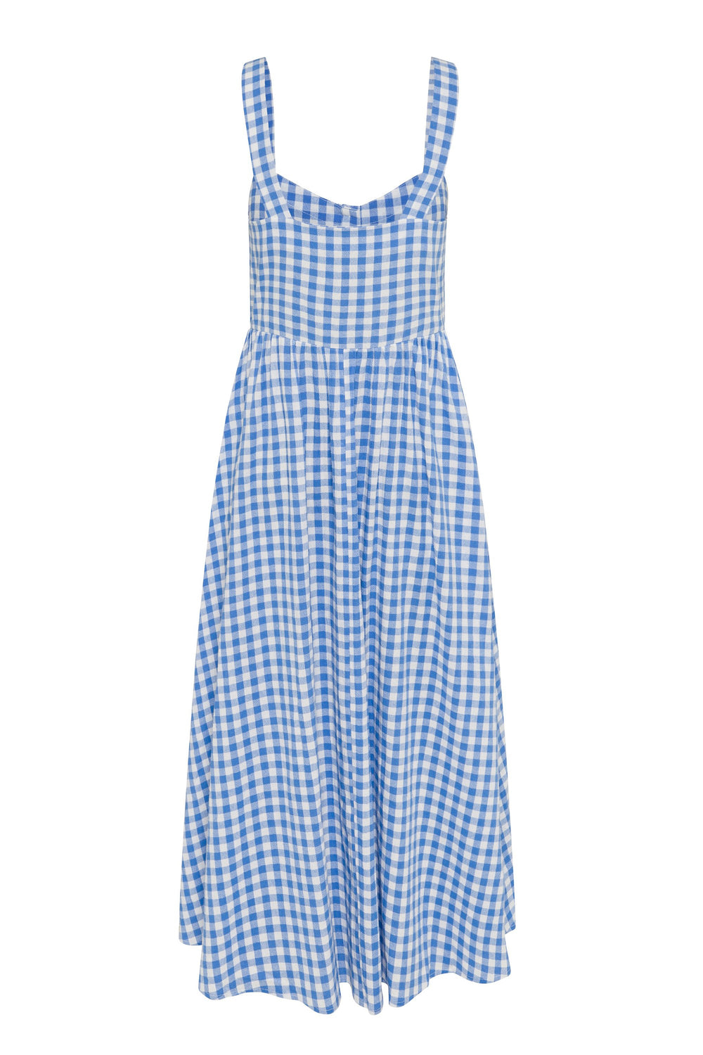 Ruby Dress In Blue Gingham