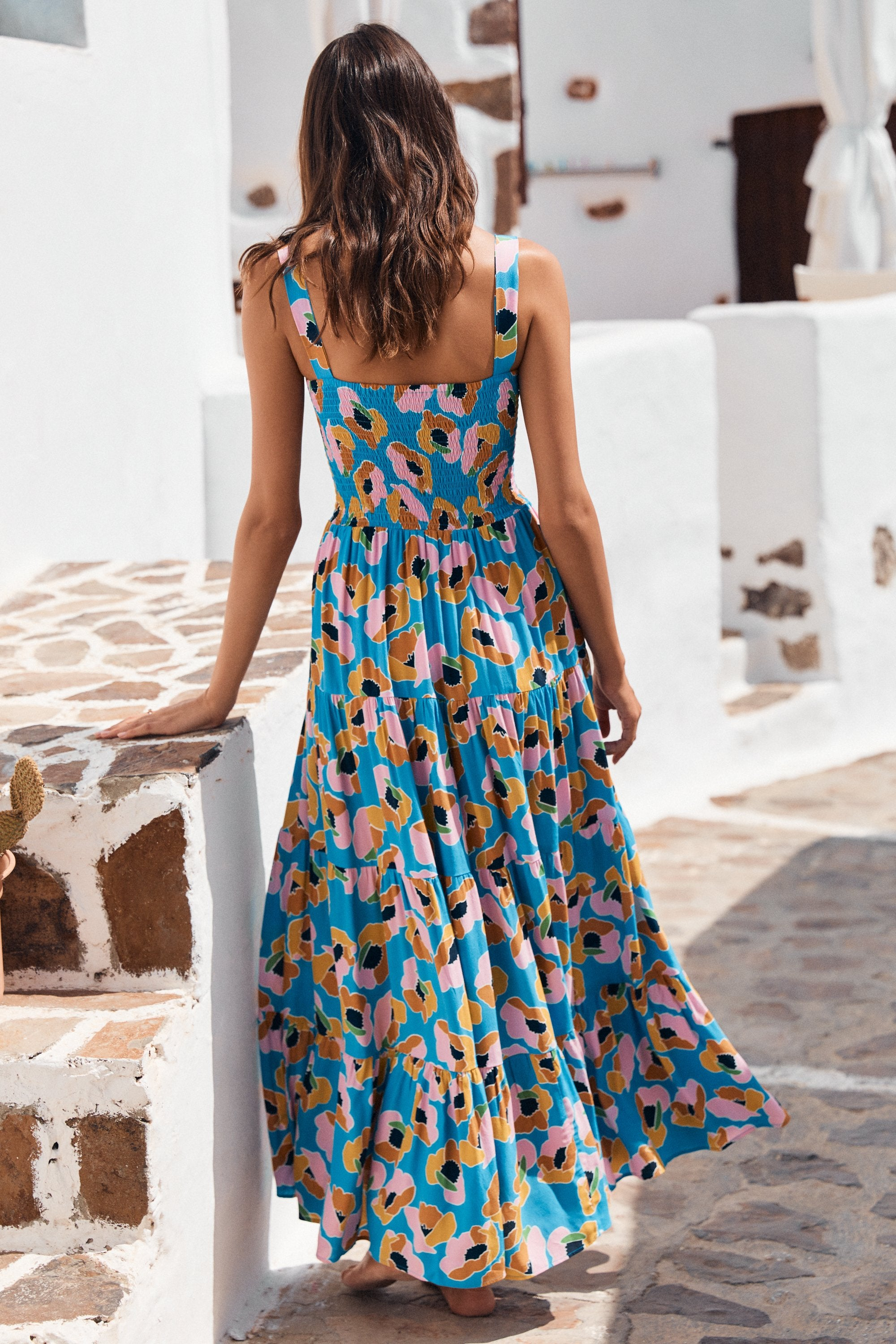 Savannah Dress In Pina Colada