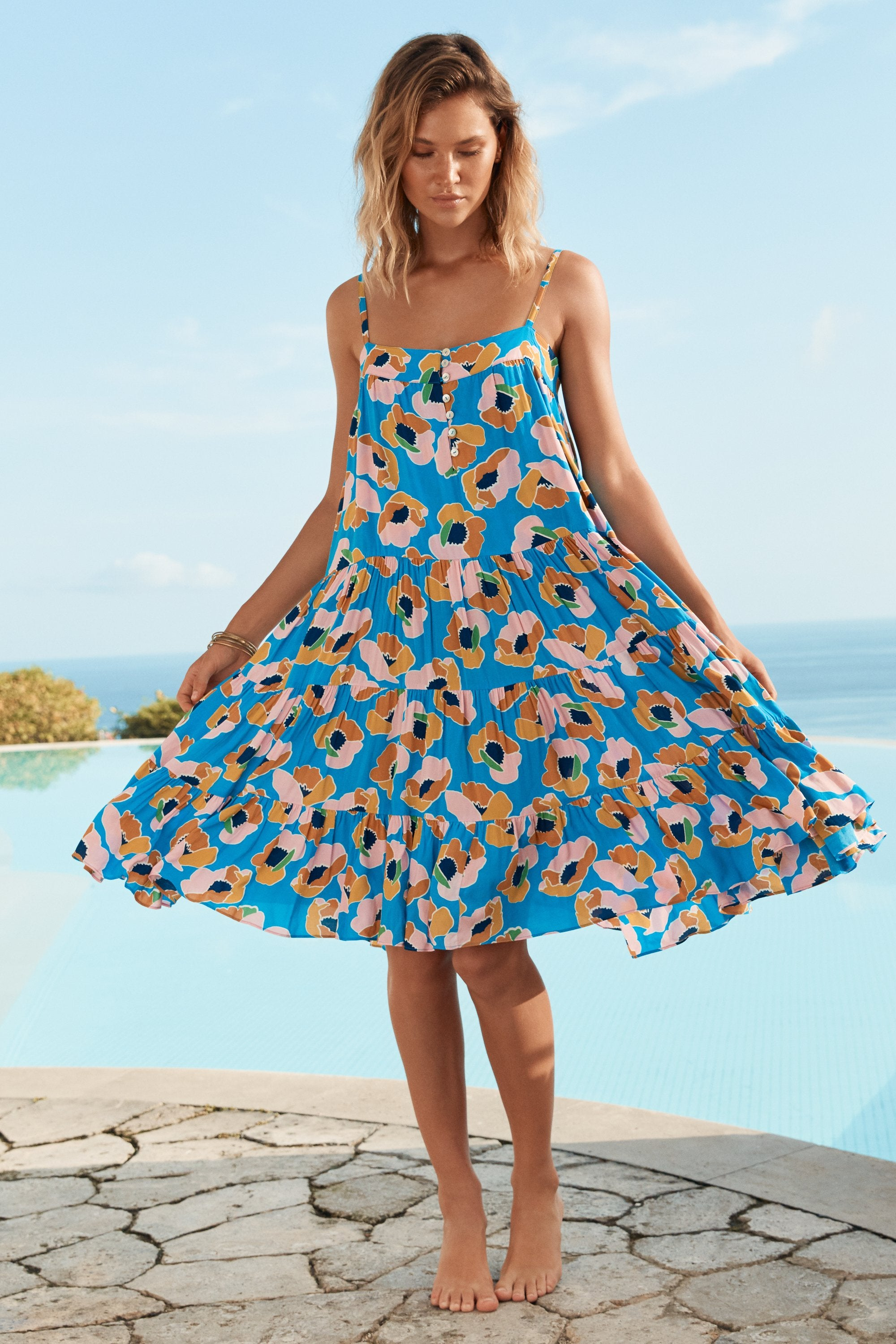 Sofia Dress In Pina Colada