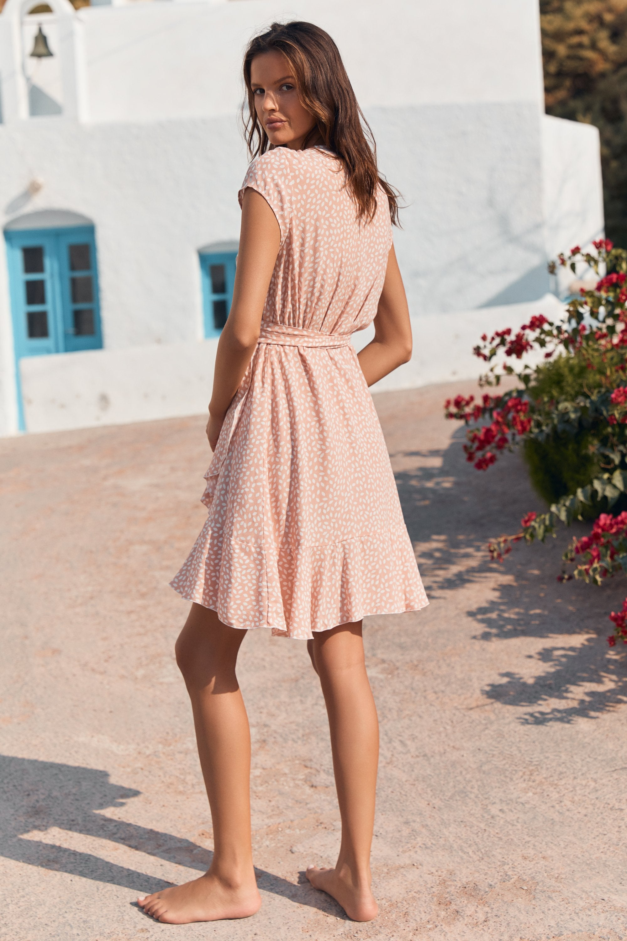 Summer Colette Dress In Blossom