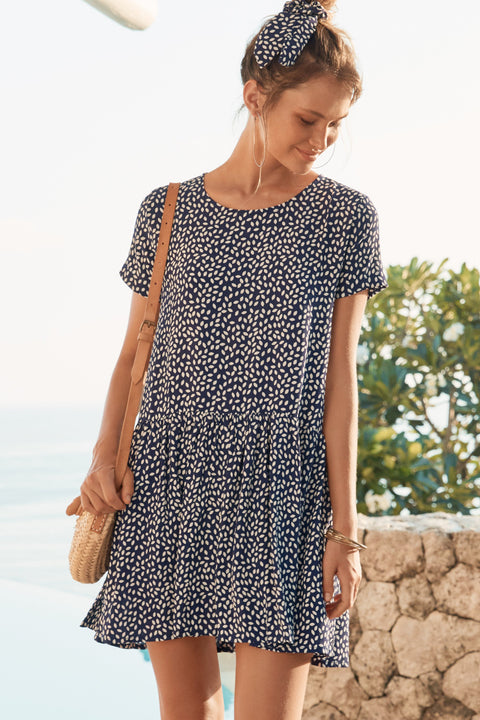 Summer Elsa Dress In Paloma