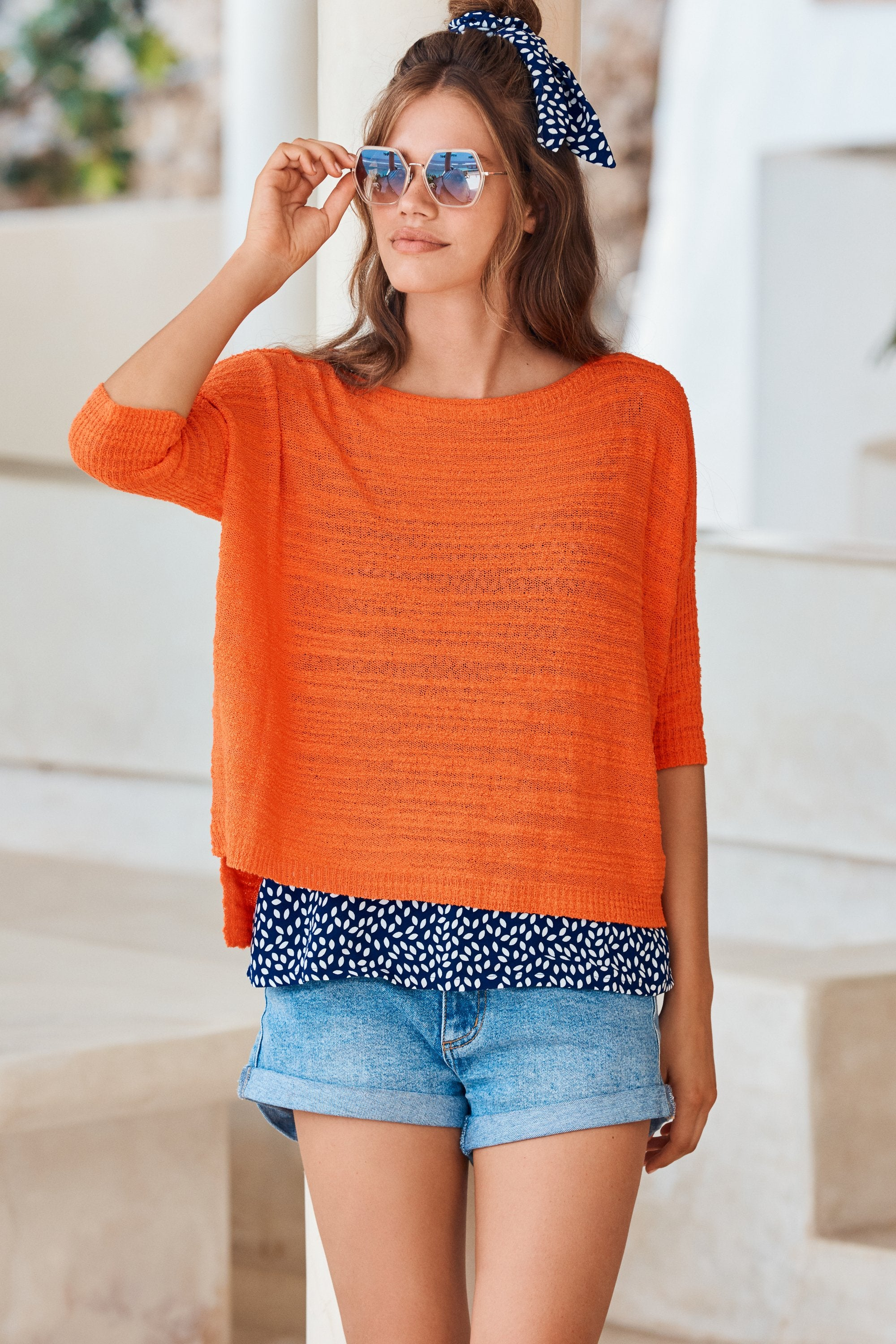 Summer Knit In Fiesta