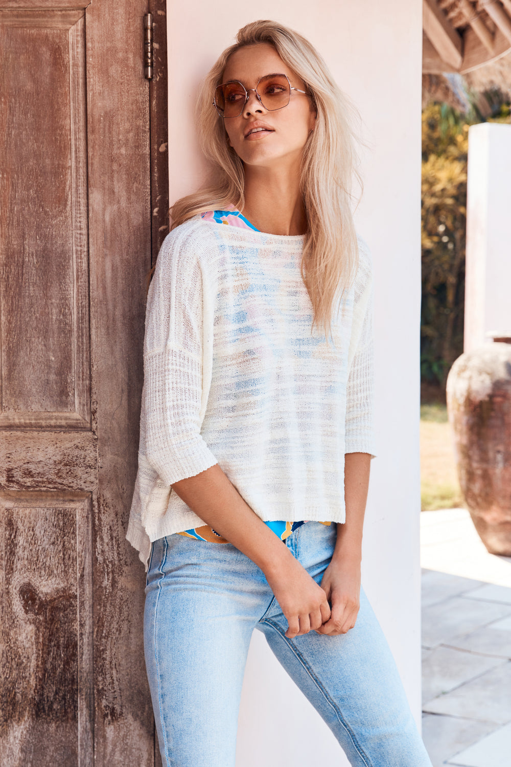 Summer Knit In Shell