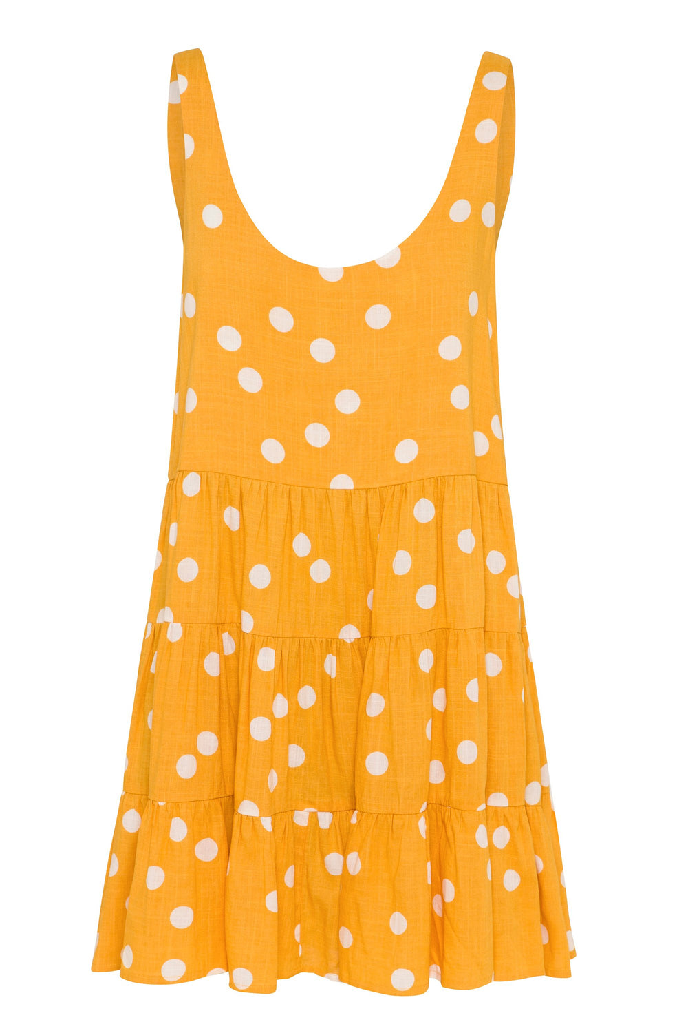 Winifred Dress In Buttercup Spot