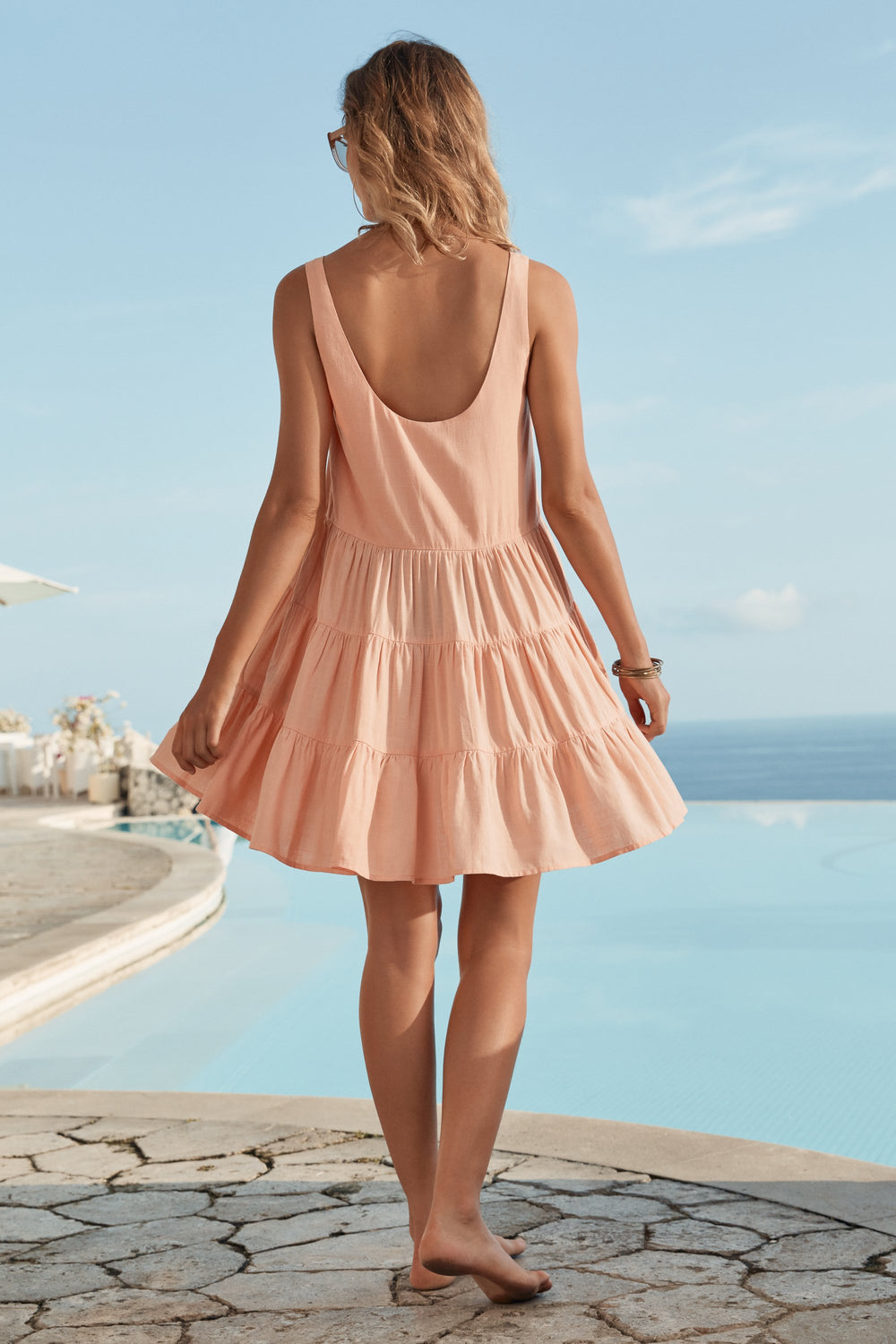 Winifred Dress In Sorbet