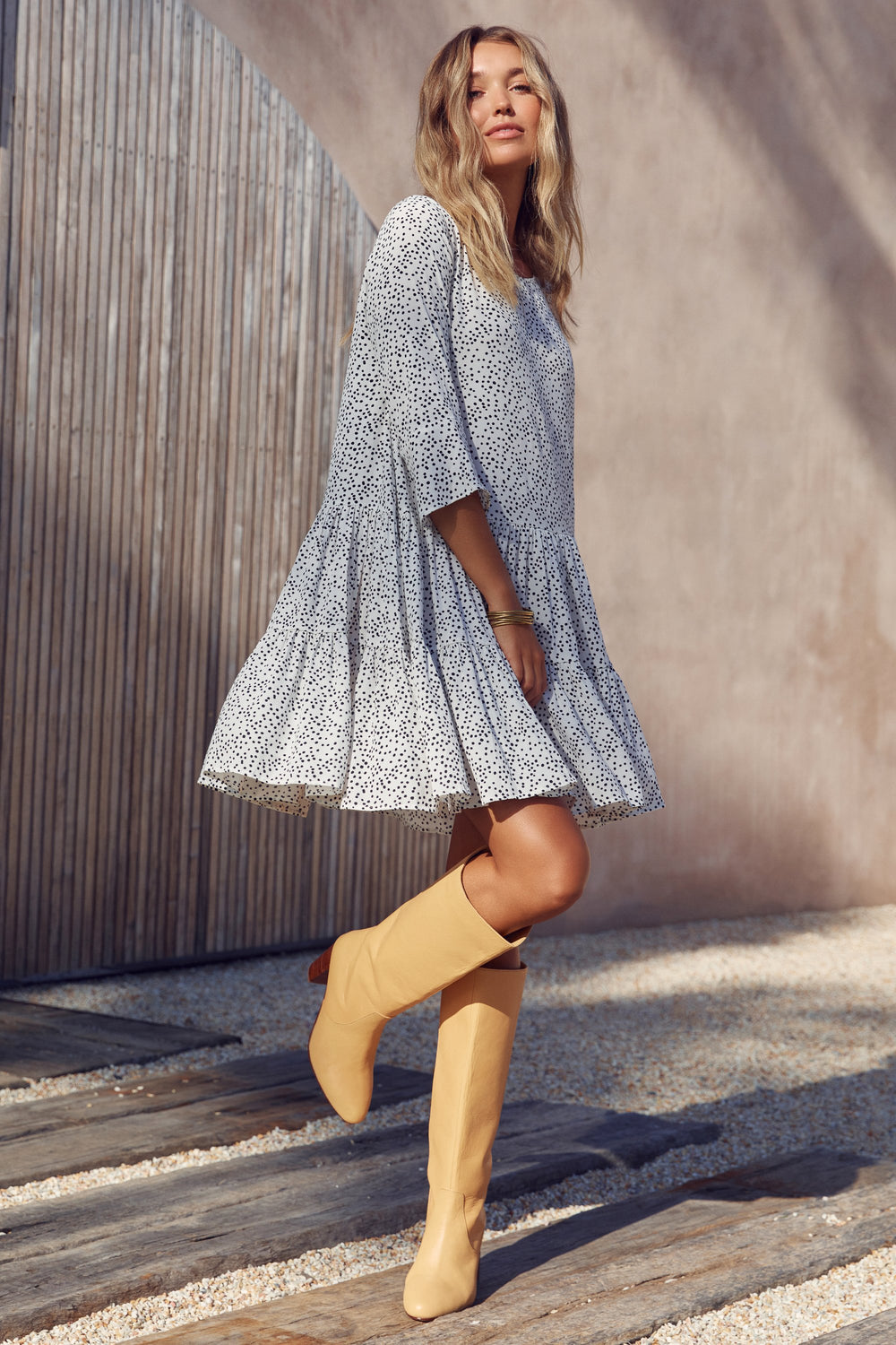 Arabella Mini Dress In Stella