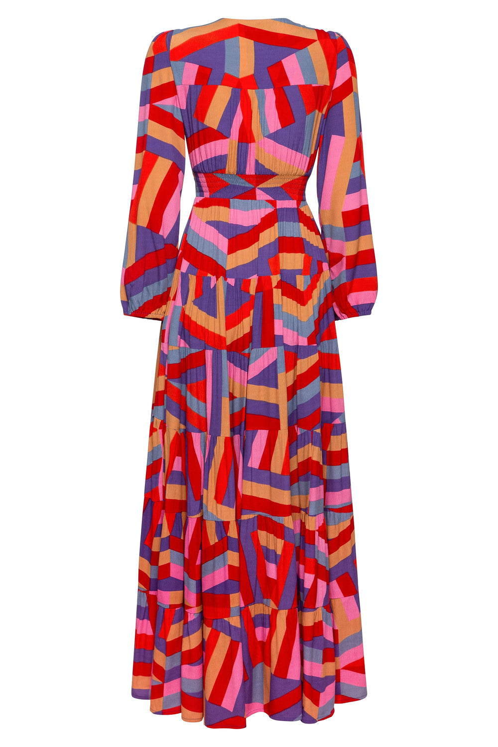 Marley Maxi Dress In Harlequin