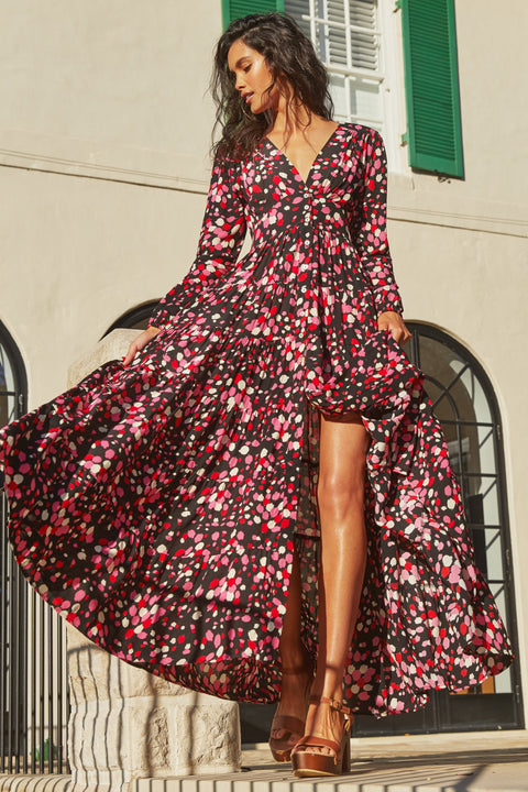 Marley Maxi Dress In Posey