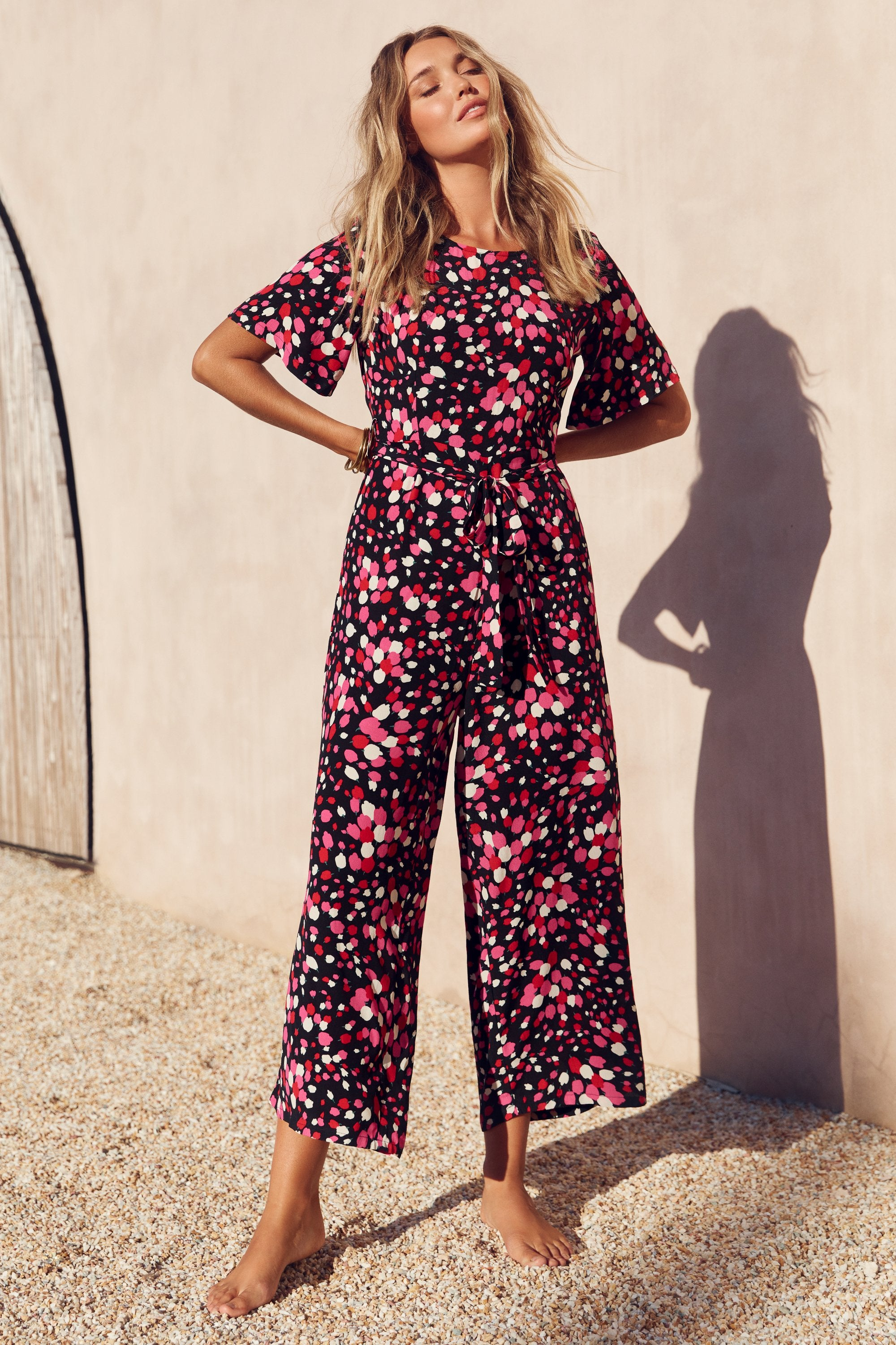 Nina Jumpsuit In Posey