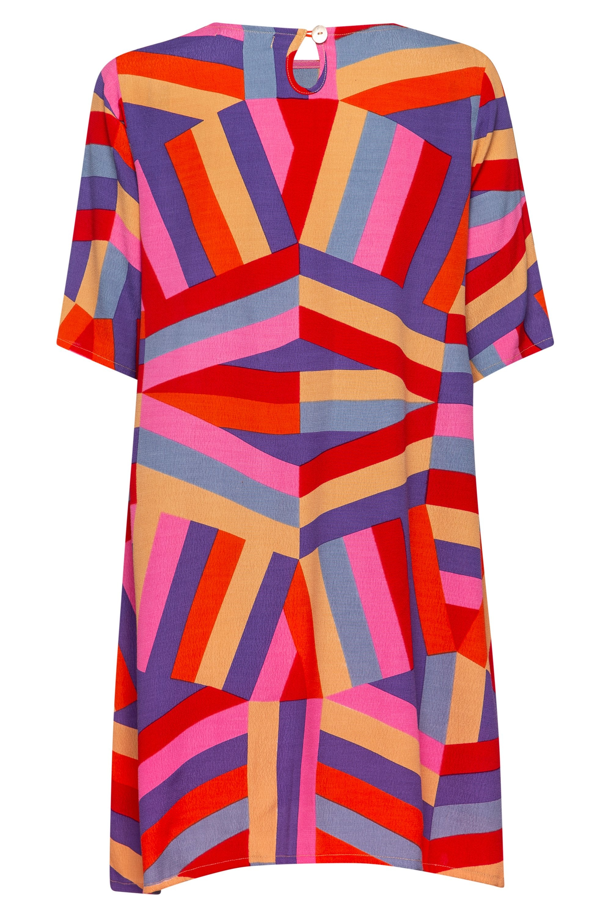 Tina Dress In Harlequin