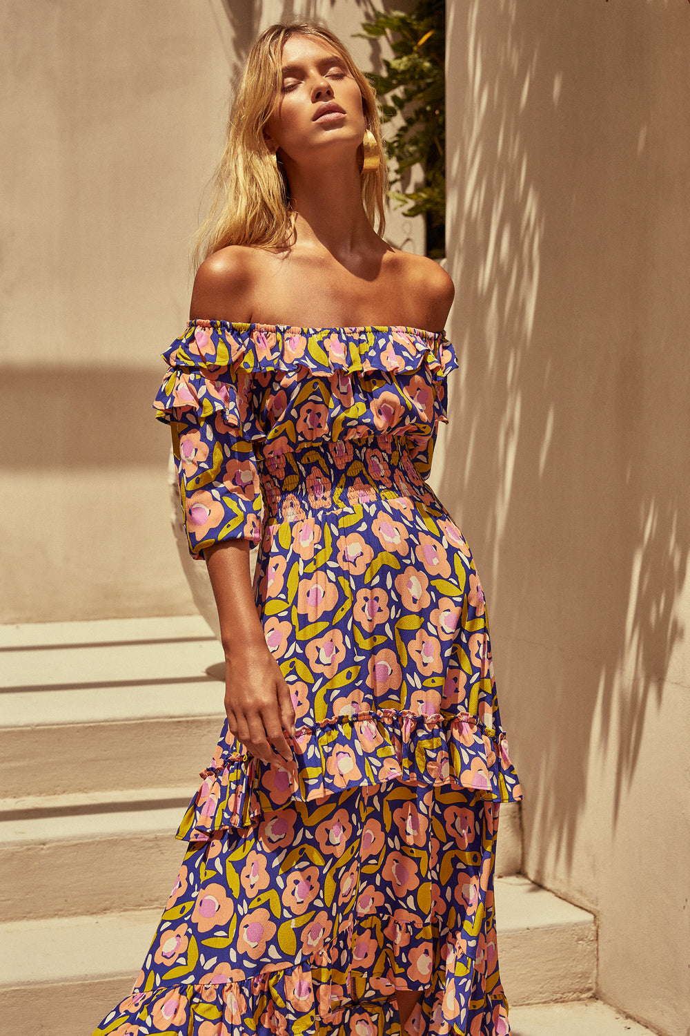 Agnes Dress In Bloom