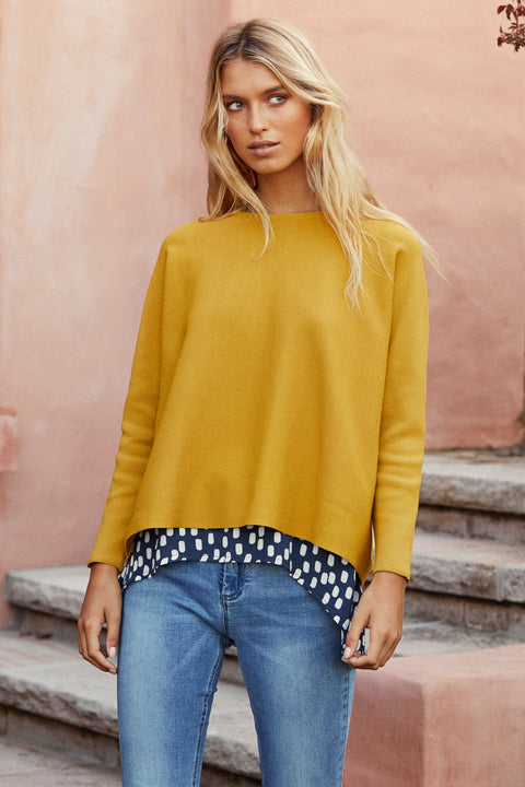 Milla Jumper In Chartreuse