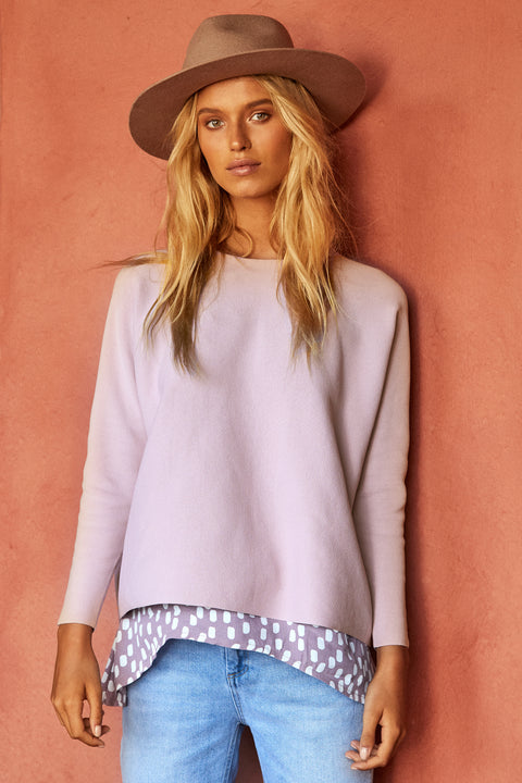 Milla Jumper In Blush