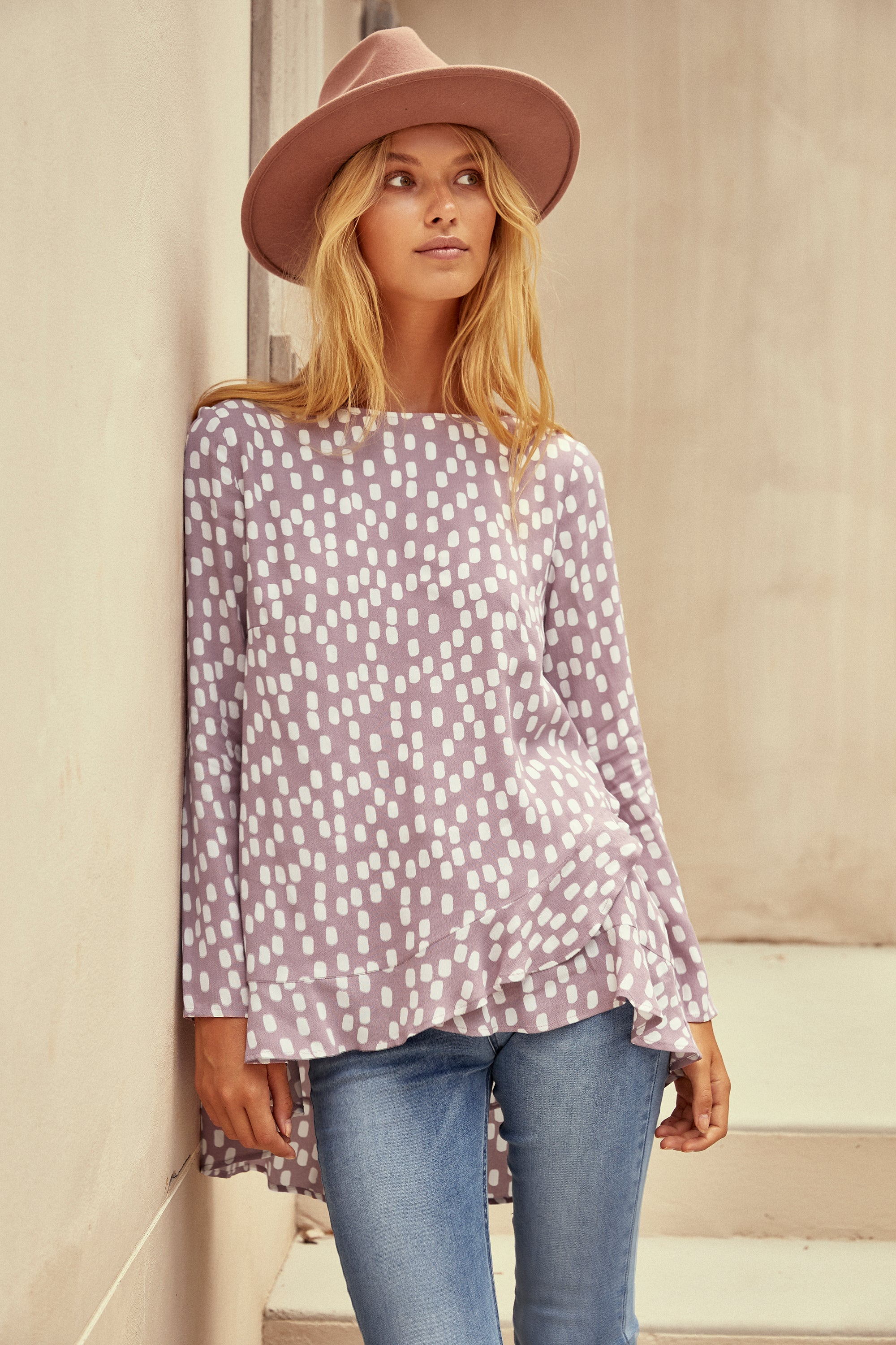 Louise Top In Mushroom