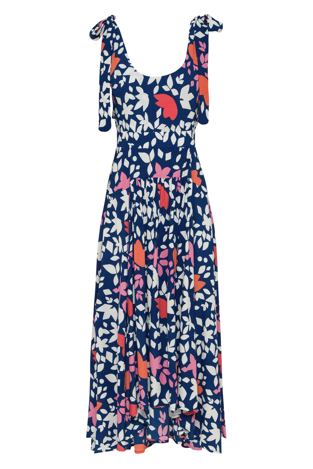 Annabelle Tie Dress In Del Mar