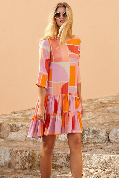 Arabella Dress In Sunset