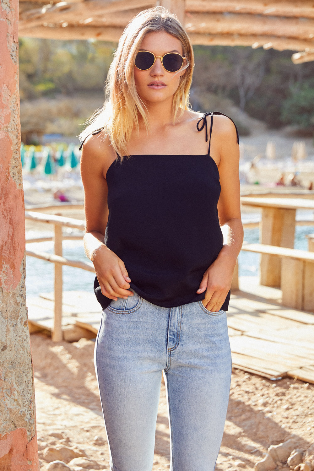 Heidi Top In Black
