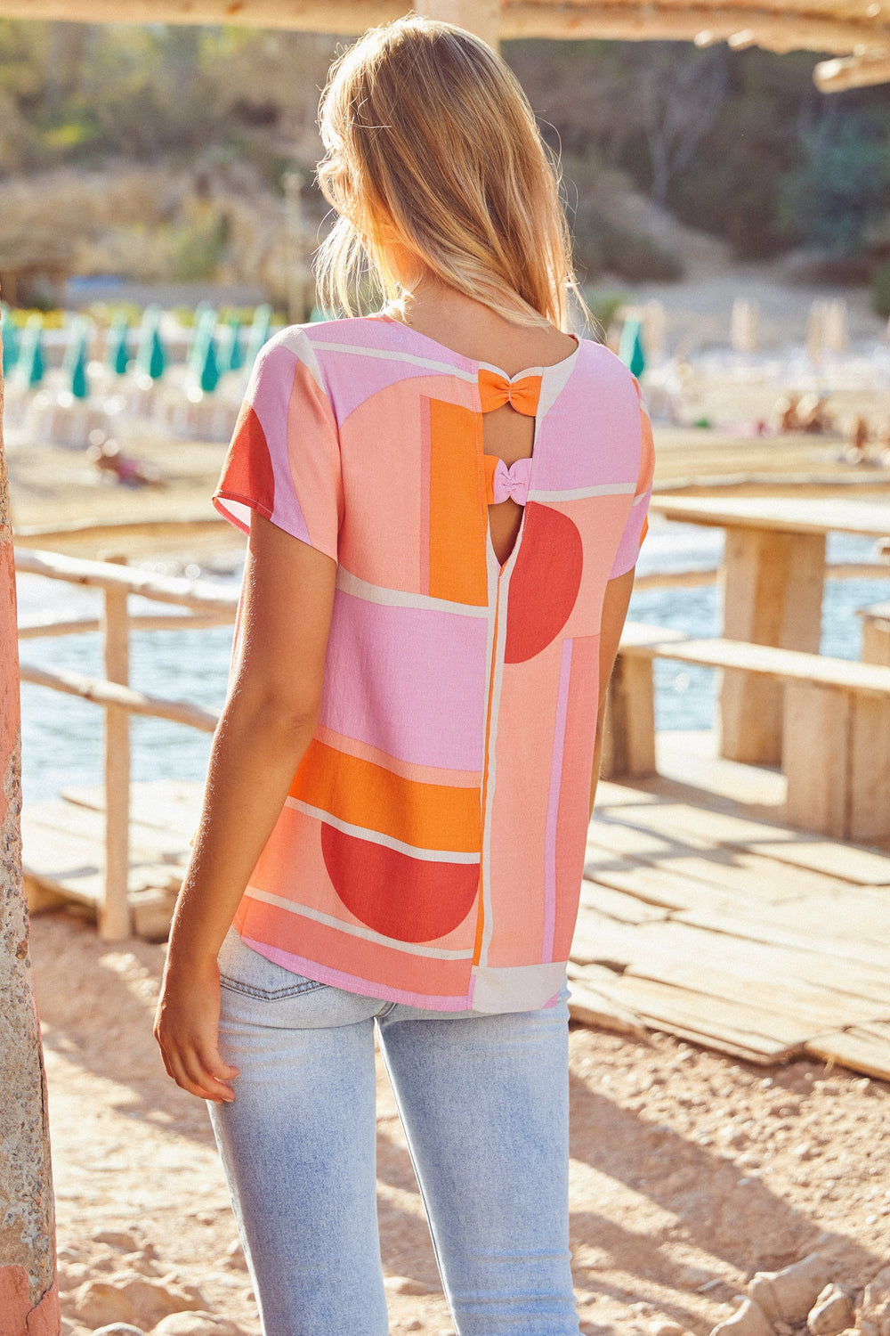 Melody Top In Sunset