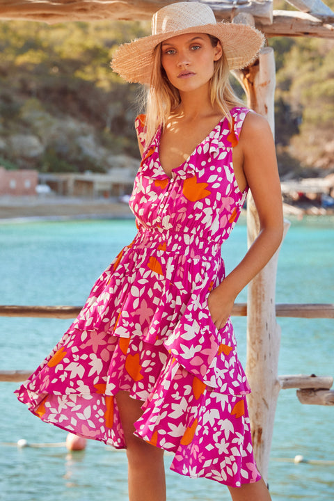 Rosa Dress In Rosada Eco Vero