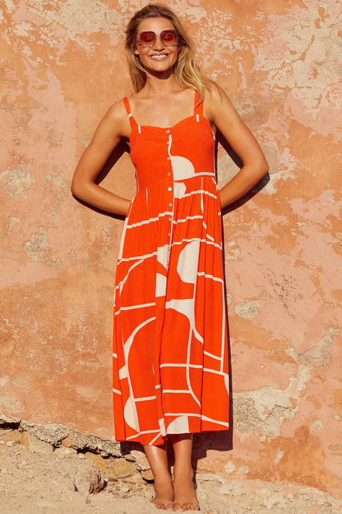 Ruby Dress In La Sol