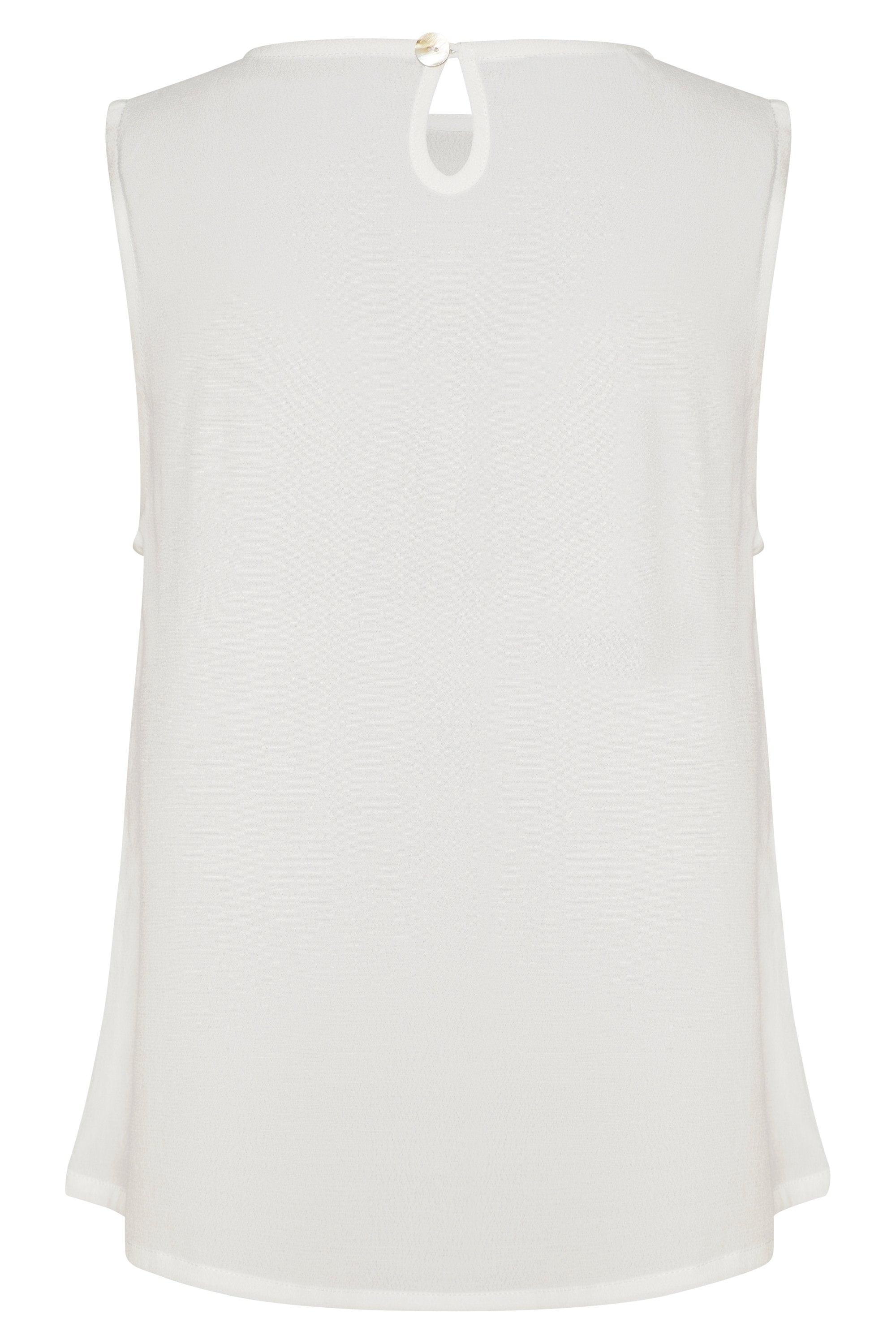 Sleeveless Tina Top In White