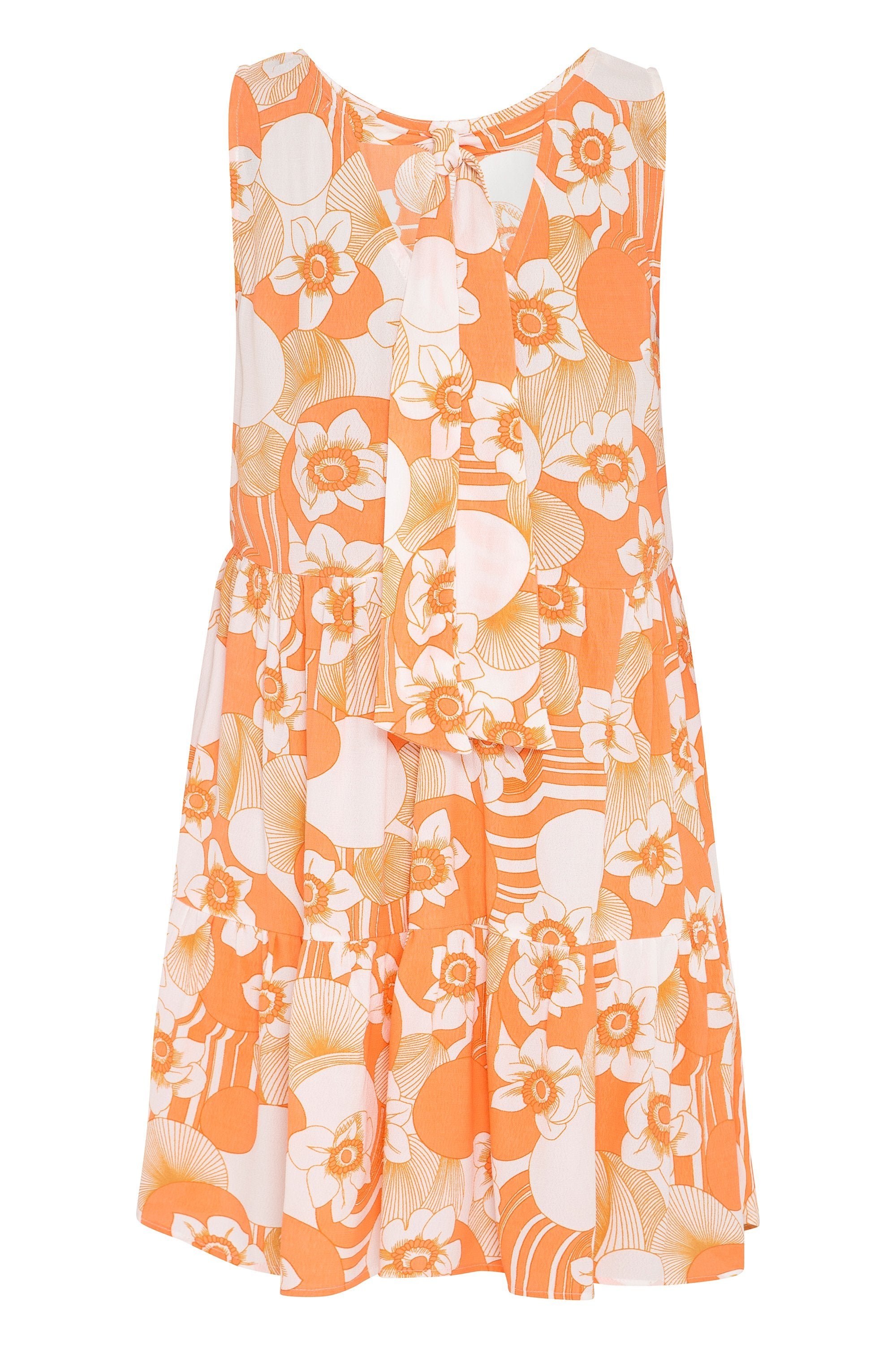 Olivia Dress In Tangerine