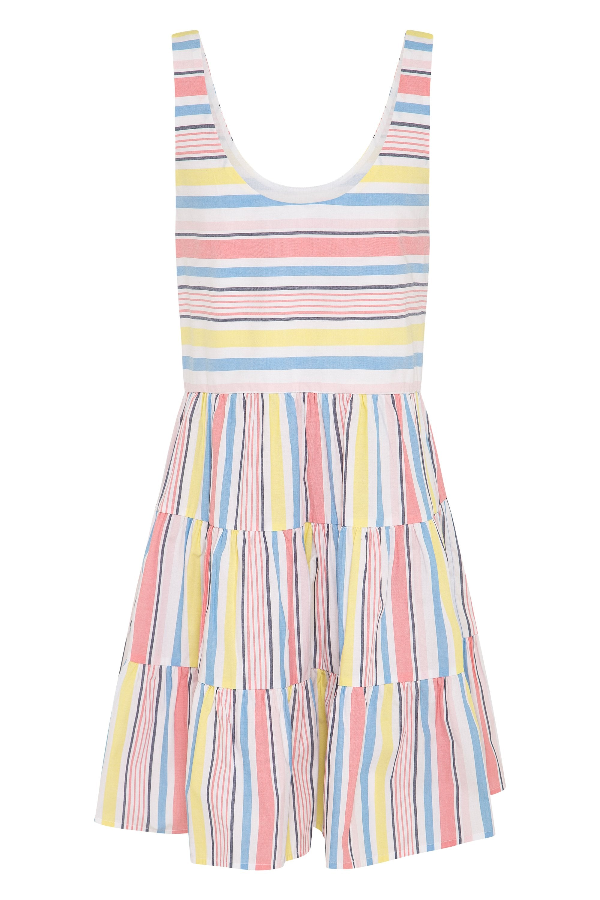 Winifred Dress In Summer Stripe