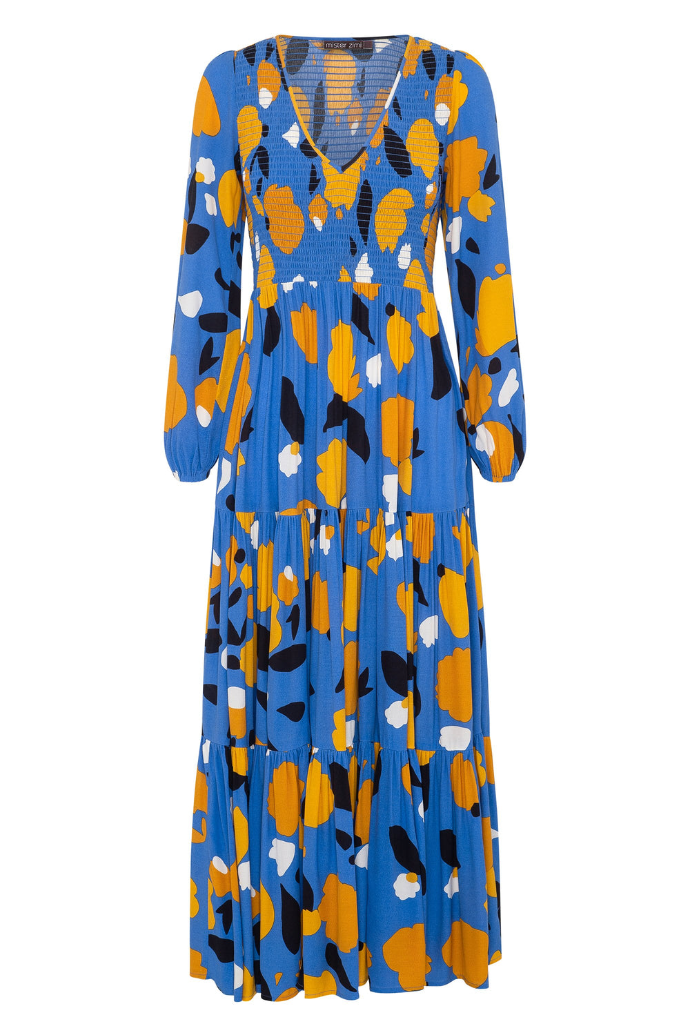 Cecile Maxi Dress In Daffodil