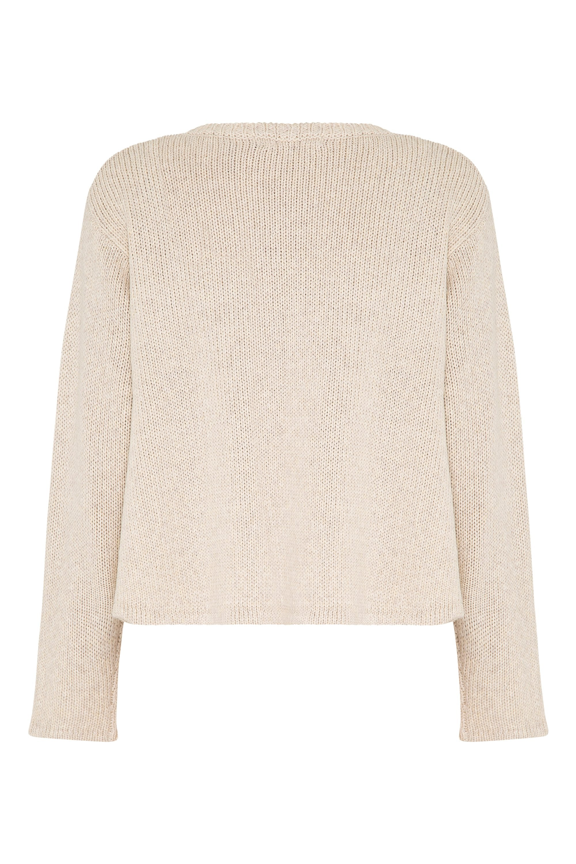May Knit Jumper In Natural