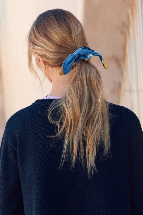 Scrunchie In Daffodil