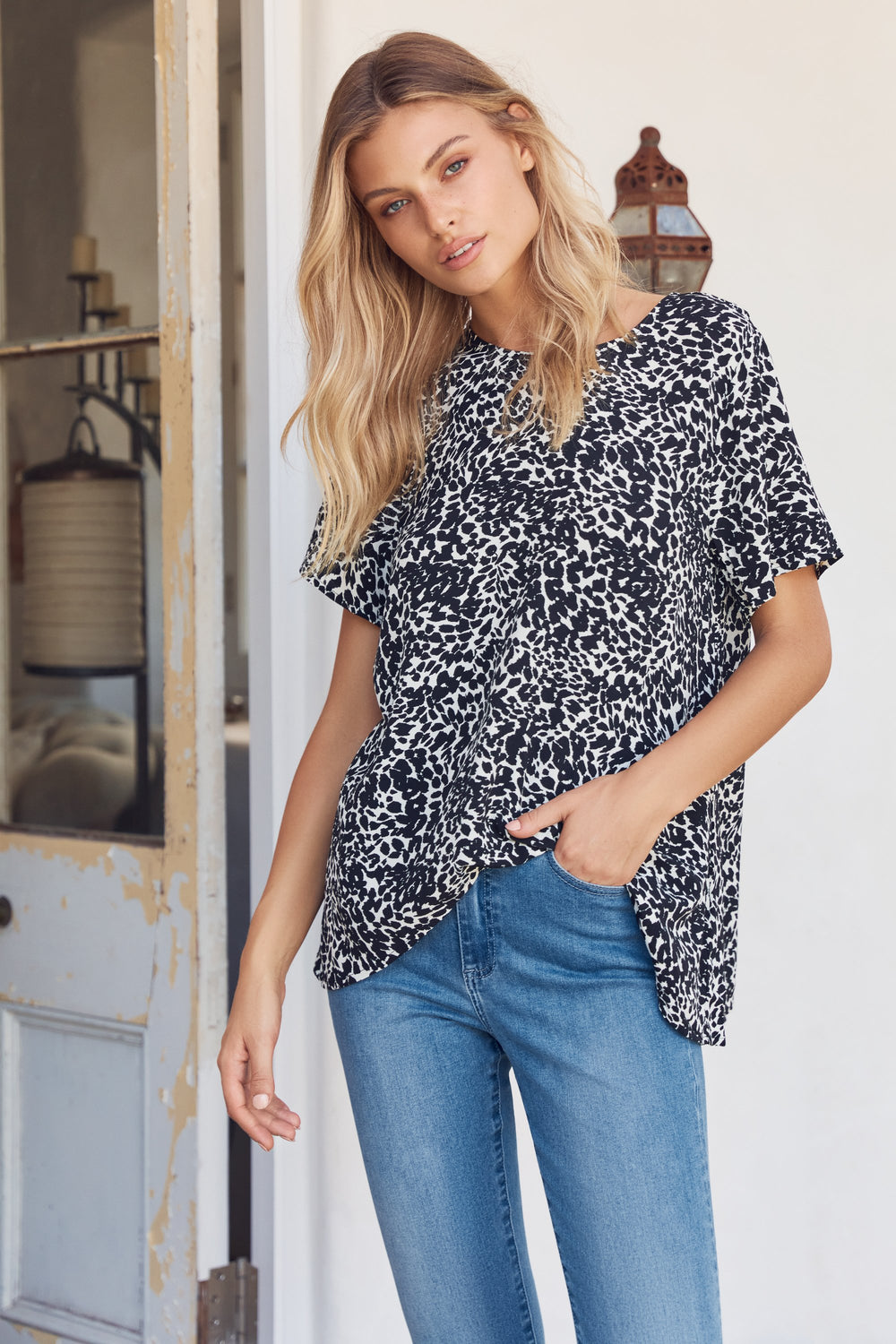 Daisy Top In Safari