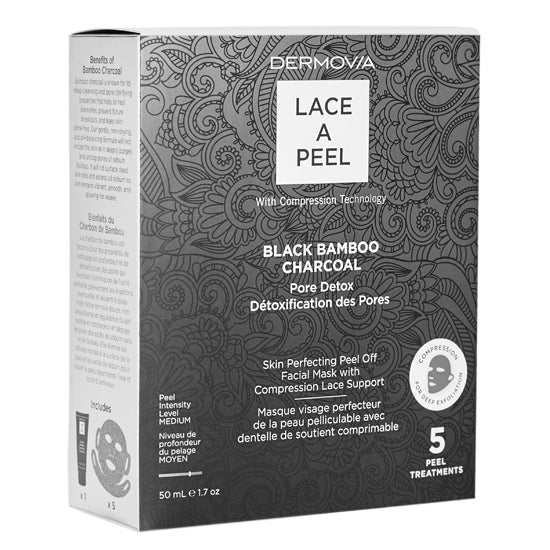 Lace A Peel Black Bamboo Charcoal Peel Off Mask