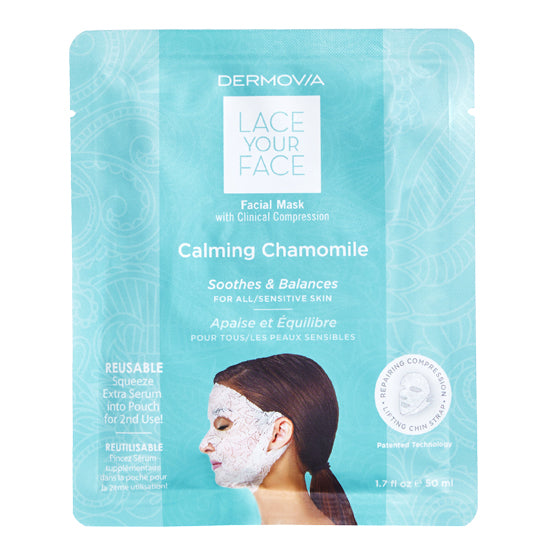 Lace Your Face Calming Chamomile