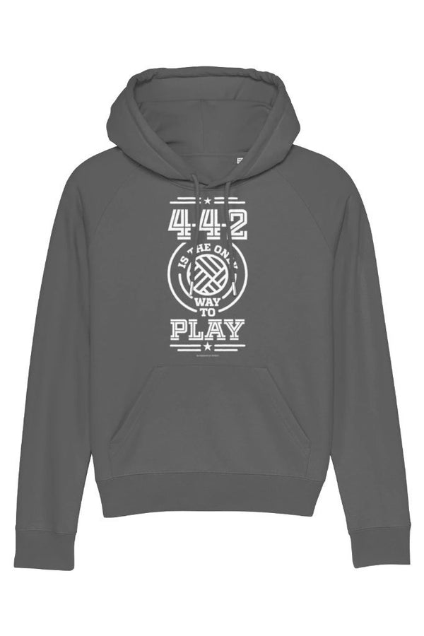 4-4-2 is the only way to Play Women's Hoodie - WOMEN TOPS - NIGEL MARK