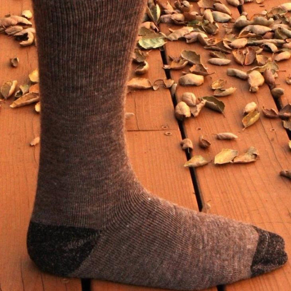 80% Alpaca American Traveler Socks - MEN ACCESSORIES - NIGEL MARK