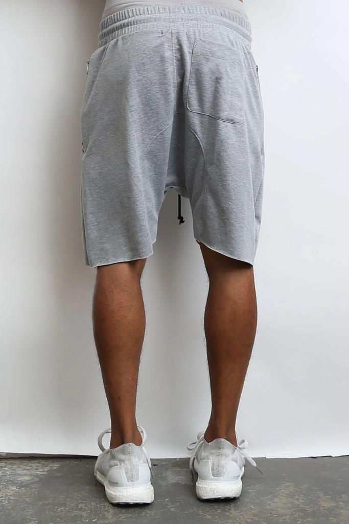 Raw Cut City Shorts - Grey