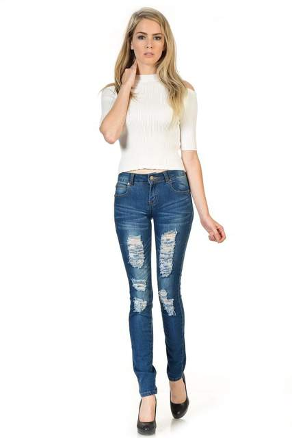 Distressed Jeans | NIGEL MARK