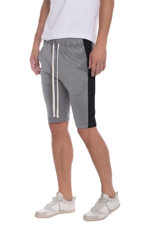 Holiday Shorts - Grey / Black - Men | Nigel Mark