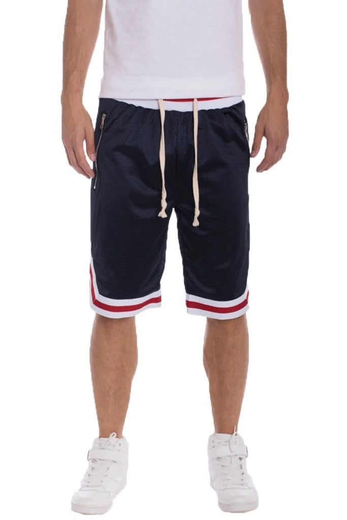 Edwin Double Mesh Shorts - Navy - Men | Nigel Mark