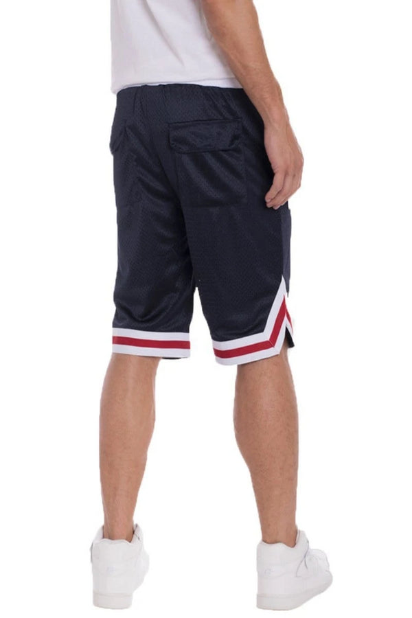 EDWIN DOUBLE MESH SHORTS - NAVY