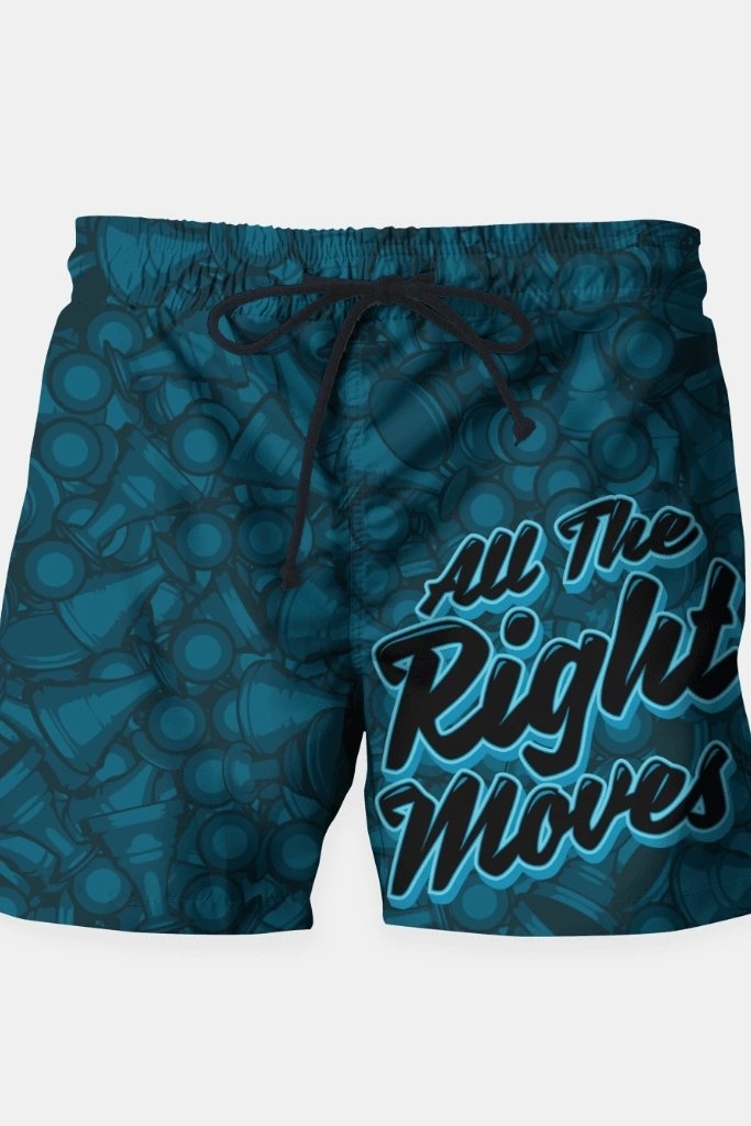 All The Right Chess Moves Shorts - MEN SHORTS - NIGEL MARK
