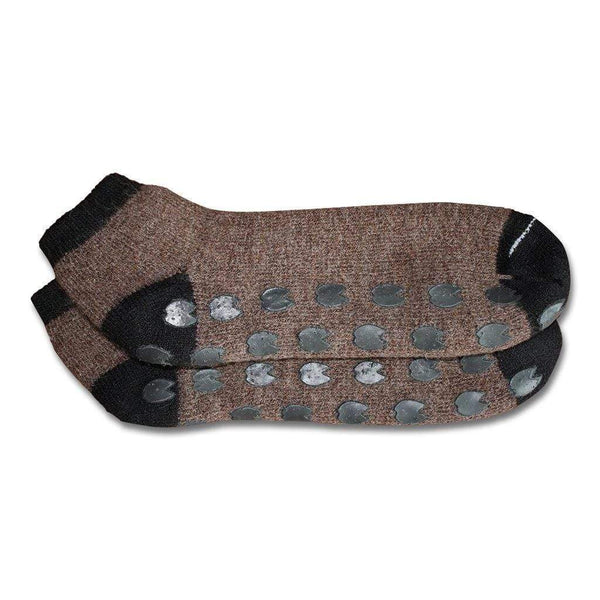 Alpaca Trax Gripper Slipper Socks - MEN ACCESSORIES - NIGEL MARK