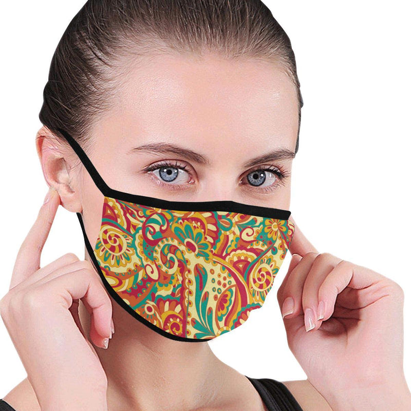 Antique Floral Hand-Made Fabric Face Mask - BEAUTY & WELLNESS - NIGEL MARK
