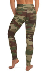 Army Camo Leggings - BOTTOMS - NIGEL MARK