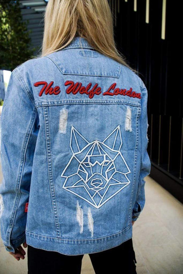 Azure Denim Jacket - Unisex - WOMEN JACKETS - NIGEL MARK