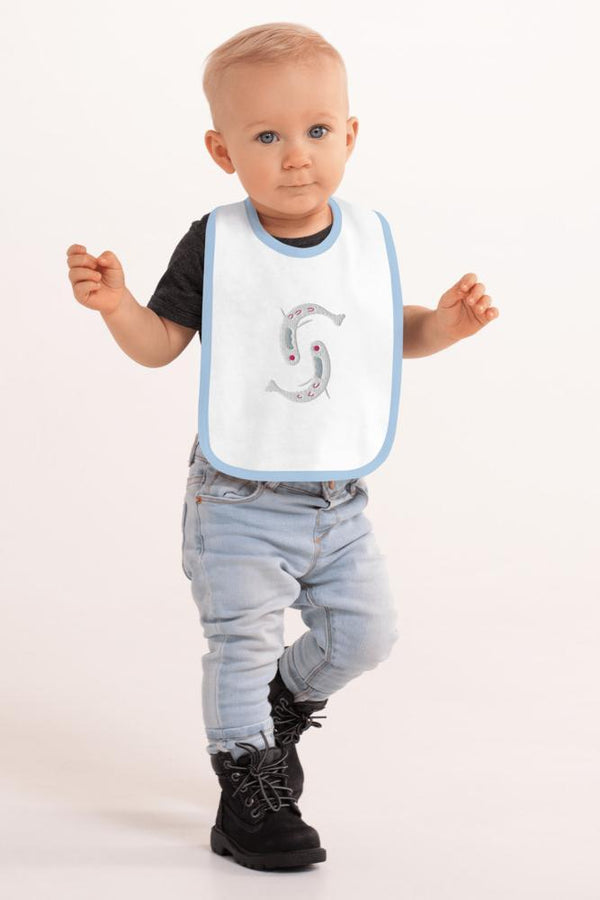 Baby Fish Bib - NM BRANDED - NIGEL MARK